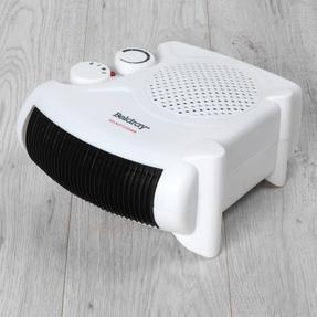Beldray COMBO-5666 Flat Fan Heater, 1000/2000 W Settings, White, Set of 2 Thumbnail 3