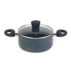 Russell Hobbs RH00848EU Blue Marble 20 cm Non-Stick Stockpot, Pressed Aluminium Thumbnail 1