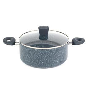Russell Hobbs RH00849EU Blue Marble 24 cm Non-Stick Stockpot, Pressed Aluminium Thumbnail 1