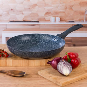 Russell Hobbs COMBO-4840A Blue Marble Non-Stick Frying Pan and Stir Fry Pan Set, 28 cm, 2 Piece Thumbnail 3