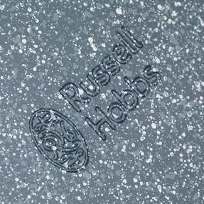Russell Hobbs RH00995EU Nightfall Stone Round Pan, 26 cm, Blue Marble Thumbnail 3