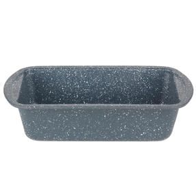 Russell Hobbs RH00996EU Nightfall Stone Loaf Pan, 28 cm, Blue Marble Thumbnail 1