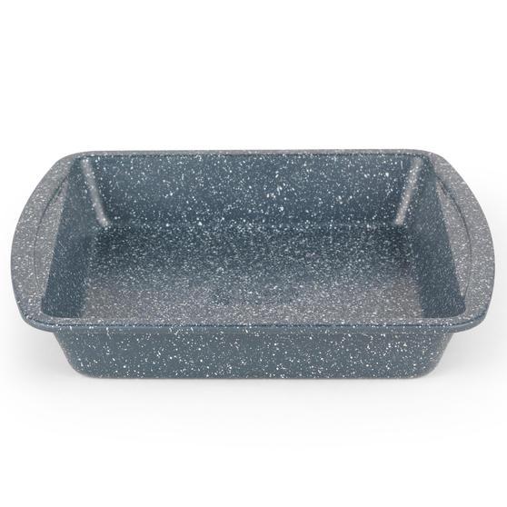 Russell Hobbs RH00997EU Nightfall Stone Square Pan, 26 cm, Blue Marble