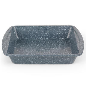 Russell Hobbs RH00997EU Nightfall Stone Square Pan, 26 cm, Blue Marble Thumbnail 1