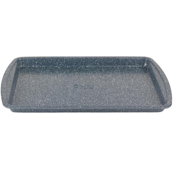 Russell Hobbs RH00998EU Nightfall Stone Baking Tray, 38 cm, Blue Marble
