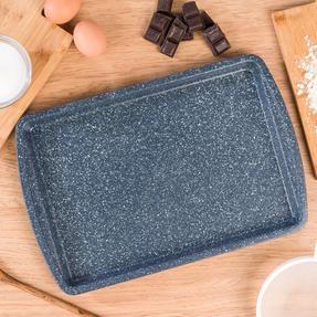 Russell Hobbs RH00998EU Nightfall Stone Baking Tray, 38 cm, Blue Marble Thumbnail 3