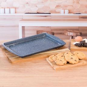 Russell Hobbs RH00998EU Nightfall Stone Baking Tray, 38 cm, Blue Marble Thumbnail 5