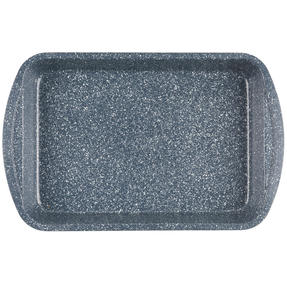 Russell Hobbs RH00999EU Nightfall Stone Roasting Tray, 38 cm, Blue Marble Thumbnail 3