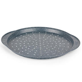 Russell Hobbs RH01003EU Nightfall Stone Pizza Pan, 37 cm, Blue Marble