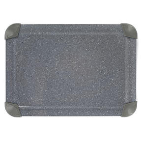 Salter COMBO-5820 Marblestone Non-Stick Quick Thaw Defrosting Tray, Aluminium, Grey, Set of 3 | No Electricity, Microwave or Hot Water Required Thumbnail 2