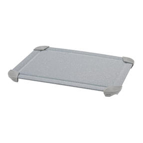 Salter COMBO-5820 Marblestone Non-Stick Quick Thaw Defrosting Tray, Aluminium, Grey, Set of 3 | No Electricity, Microwave or Hot Water Required Thumbnail 5