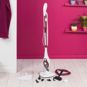 Kleeneze KL0598PLUM-B 12 in 1 1500 W Multipurpose Steam Cleaner, Plum Thumbnail 5
