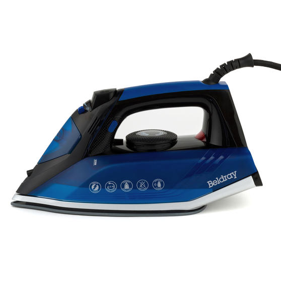 Beldray Easy-Fill Iron with 200ml Water Tank, 2400 W, 2.5 Power Cord Thumbnail 6