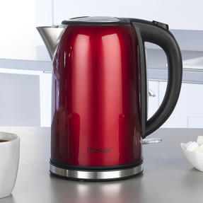 Prestige 46120 Pearlescent Cordless Kettle, 1.7 Litre, Red Thumbnail 3