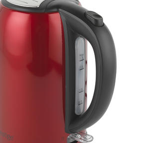 Prestige 46120 Pearlescent Cordless Kettle, 1.7 Litre, Red Thumbnail 4