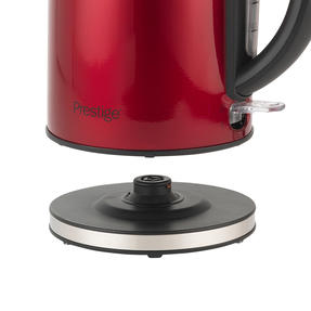Prestige 46120 Pearlescent Cordless Kettle, 1.7 Litre, Red Thumbnail 5