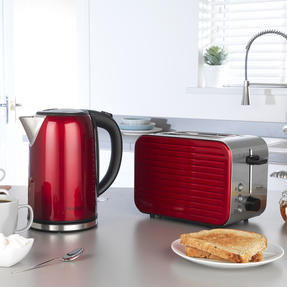 Prestige 46120 Pearlescent Cordless Kettle, 1.7 Litre, Red Thumbnail 8