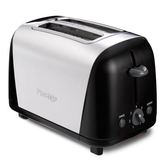 Prestige 53568 2-Slice Toaster with High Lift and Auto Pop-Up, Stainless Steel