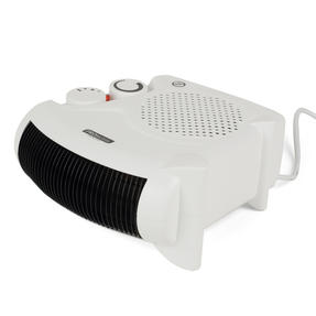 Prolectrix COMBO-5912 Portable Flat Fan Heater and Cooler, 2000 W, White, Set of 3 Thumbnail 5