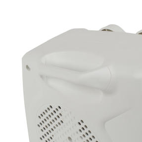 Prolectrix COMBO-5912 Portable Flat Fan Heater and Cooler, 2000 W, White, Set of 3 Thumbnail 6