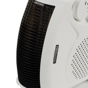 Prolectrix COMBO-5912 Portable Flat Fan Heater and Cooler, 2000 W, White, Set of 3 Thumbnail 8