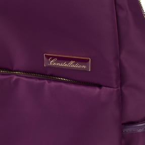 Constellation LG00608PURPLETEMIL The Signature Ladies Back Pack with Multiple Inner Storage Sections, Purple Thumbnail 2
