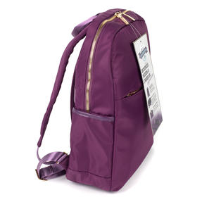 Constellation LG00608PURPLETEMIL The Signature Ladies Back Pack with Multiple Inner Storage Sections, Purple Thumbnail 3