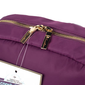 Constellation LG00608PURPLETEMIL The Signature Ladies Back Pack with Multiple Inner Storage Sections, Purple Thumbnail 6
