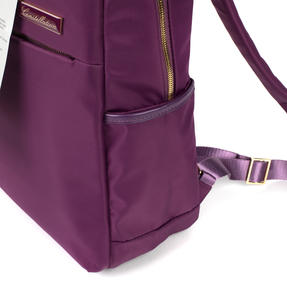Constellation LG00608PURPLETEMIL The Signature Ladies Back Pack with Multiple Inner Storage Sections, Purple Thumbnail 8