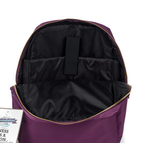 Constellation LG00608PURPLETEMIL The Signature Ladies Back Pack with Multiple Inner Storage Sections, Purple Thumbnail 9