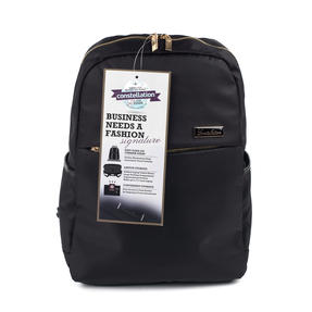Constellation Signature Ladies Back Pack with Multiple Inner Storage Sections, Black Thumbnail 1