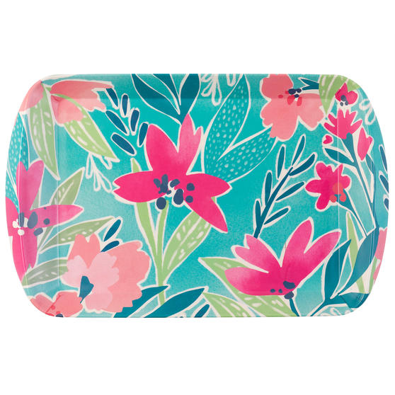 Cambridge CM06890 Evie Large Reusable Rectangular Tray, 40 cm | Perfect for Serving Drinks at Parties