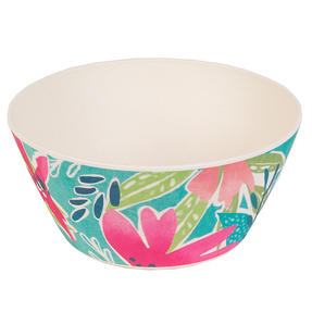 Cambridge CM06892 Eco Friendly Bamboo Dinnerware Bowls, Set of 4, Evie Print Thumbnail 3