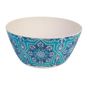 Cambridge CM07000 Reusable BPA Free Dinnerware Large Serving Bowl, St Tropez Thumbnail 1