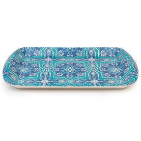 Cambridge CM07002 St Tropez Large Reusable Rectangular Tray, 40 cm | Perfect for Serving Drinks at Parties Thumbnail 3