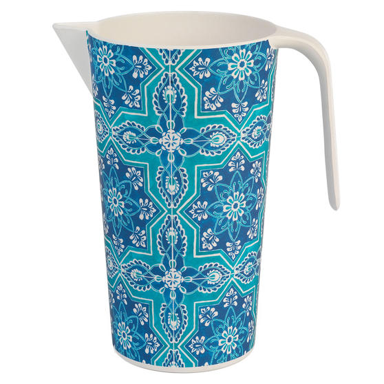 Cambridge CM07006 Reusable BPA Free Large Serving Jug, 1.5 Litres, St Tropez
