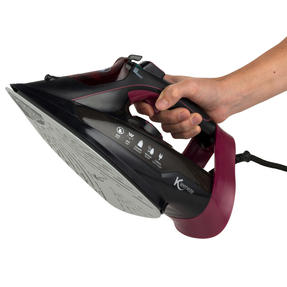 Kleeneze KL0948 Steam Iron, 3000 W, Black Thumbnail 3