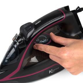 Kleeneze KL0949 Continuous Steam Iron, 2600 W, Black Thumbnail 10