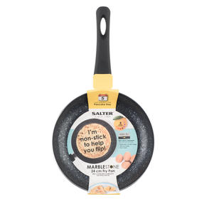 Salter Marblestone Non-Stick Frying Pan, 24 cm Thumbnail 3