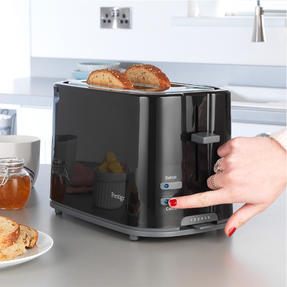 Prestige COMBO-5909 Eco 1.7 Litre Kettle and 2-Slice Toaster with High-Lift/Auto Pop-Up, Black Thumbnail 6