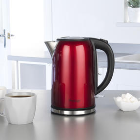 Prestige COMBO-5910 Pearlescent Cordless Kettle and 2-Slice Toaster Set, Red Thumbnail 6