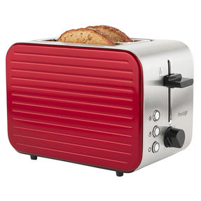 Prestige COMBO-5910 Pearlescent Cordless Kettle and 2-Slice Toaster Set, Red Thumbnail 9