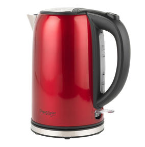Prestige COMBO-5910 Pearlescent Cordless Kettle and 2-Slice Toaster Set, Red Thumbnail 5