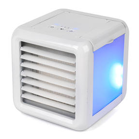 Prolectrix COMBO-5933 Personal Temperature Control Set with Digital Plug-In Mini Heater and Ice Cube Portable Table Top Air Cooler, 500 W/5 W, White Thumbnail 6