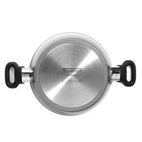 Thomas 1406203 Titanium Casserole Pan with Glass Lid, 24 cm, 3.8 L Thumbnail 3