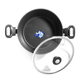 Thomas 1406204 Titanium Casserole Pan with Glass Lid, 26 cm, 5 L Thumbnail 2