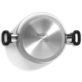 Thomas 1406204 Titanium Casserole Pan with Glass Lid, 26 cm, 5 L Thumbnail 3
