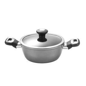 Thomas 1406211 Titanium Casserole Pan with Glass Lid, 20 cm, 2.1 L Thumbnail 1