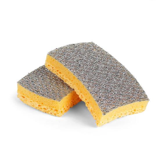 Kleeneze Soft Clean Scourer Sponge, Pack Of 2