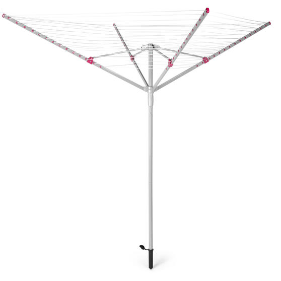 Kleeneze KL064363EU Rotary Outdoor Clothes or Garment Airer, 30 Metre Drying Spa